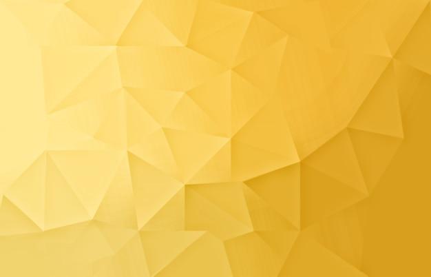 Gold abstract low poly licht hintergrund