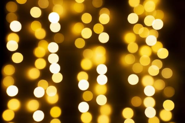 Gold abstrakter bokeh-hintergrund. pop-art.