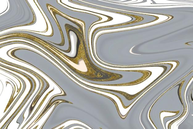 Gold andr grauer marmor abstrakter hintergrund