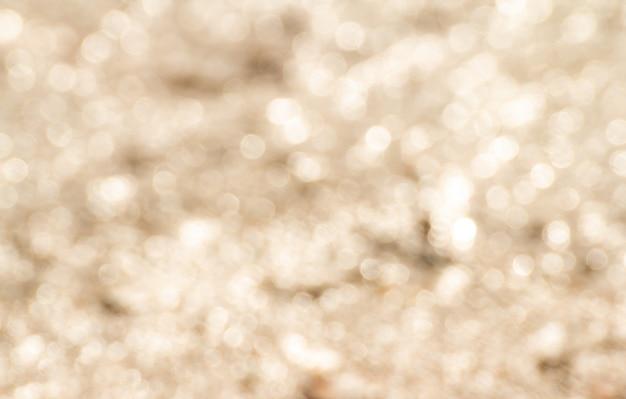 Gold bokeh abstrakten hintergrund