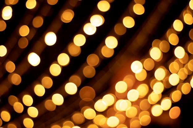 Gold bokeh texturen und reflexionen