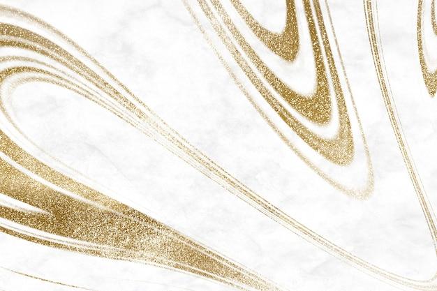 Gold flüssiger marmor hintergrund luxus-stil
