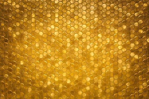Gold funkelnde kleine gekachelte wandhintergrundbeschaffenheit, modernes luxuriöses reiches glänzendes mosaikmuster