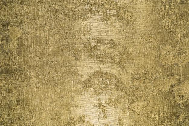 Gold glänzende wand abstrakte grunge hintergrundtextur