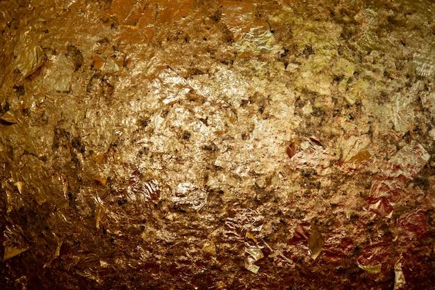 Gold grunge metall textur hintergrund