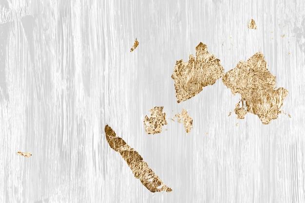 Gold in weißer hintergrundtapete, abstrakte kunst