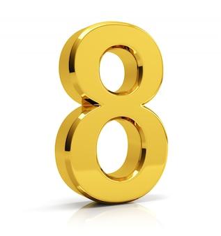 Gold nummer 8