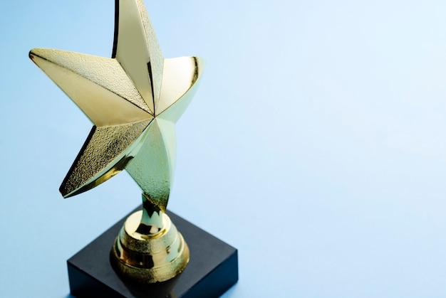 Gold star award für exzellenz