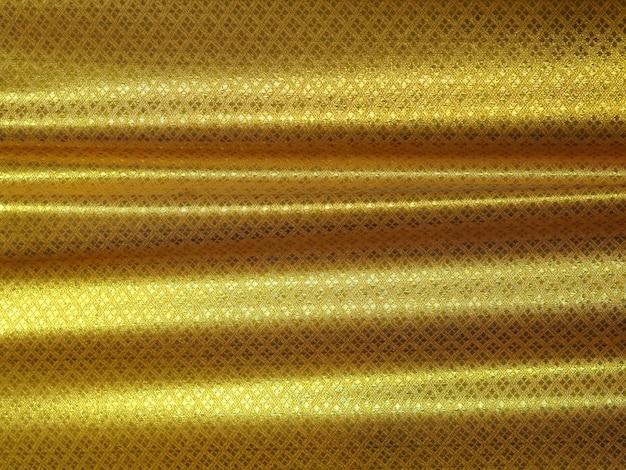 Gold stoff luxus thai muster hintergrund