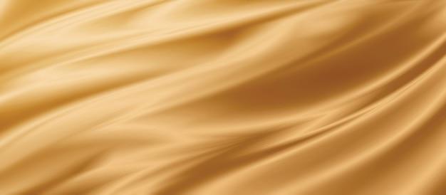 Gold stoff textur hintergrund 3d-darstellung