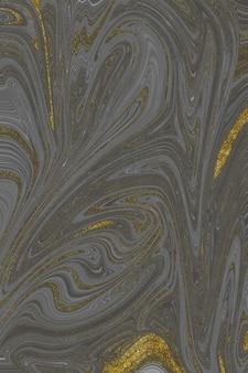 Gold und grauer marmor abstrakter hintergrund