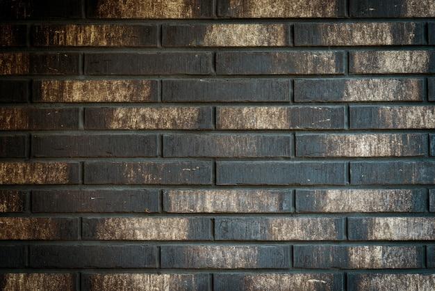 Gold vintage backsteinmauer oder zaun textur grunge hintergrund