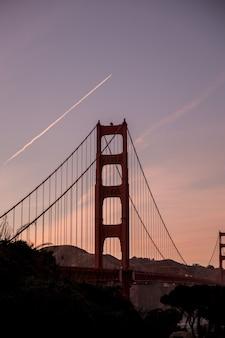 Golden gate bridge tagsüber
