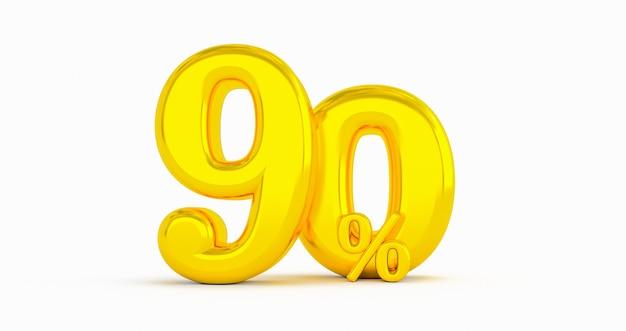Goldene 90% rabatt