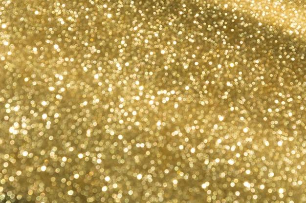 Goldene bokeh