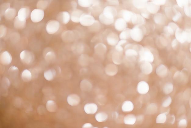 Goldene lichter für weihnachtshintergrund
