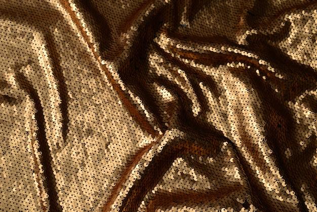 Goldene pailletten stoff textur