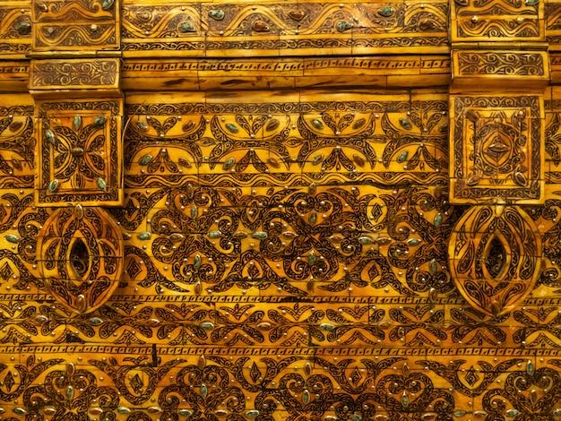 Goldene reliquienkiste marokko