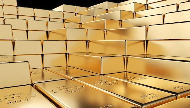 Goldener barren