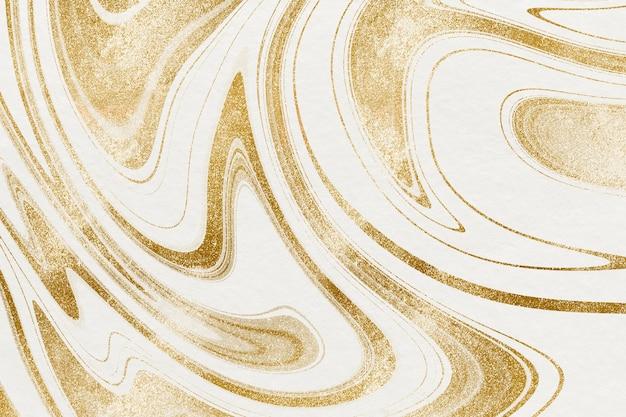 Goldener flüssiger kunsthintergrund im luxusstil