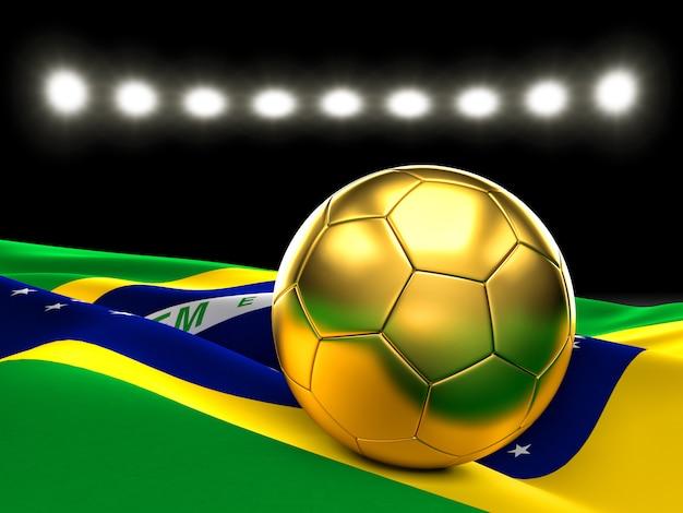 Goldener fußball