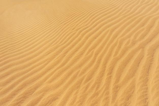 Goldener sanddünen hintergrund