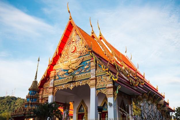 Goldener tempel thailands