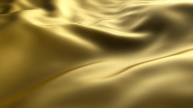 Goldener wellenhintergrund