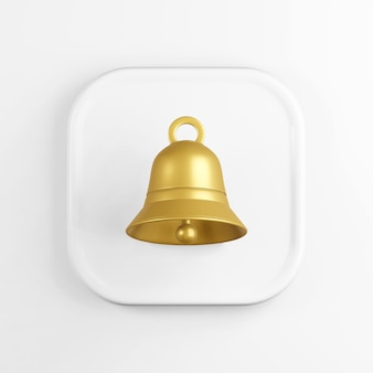 Goldenes glockensymbol