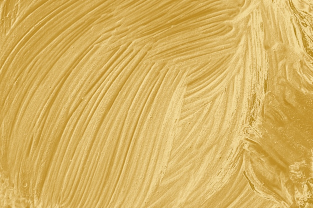 Goldenes strukturiertes ölgemälde