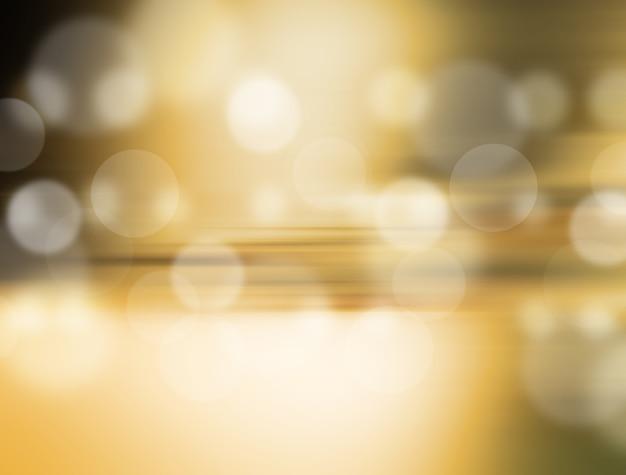 Goldfestlicher hintergrund. eleganter abstrakter hintergrund mit bokeh defocused lichtern