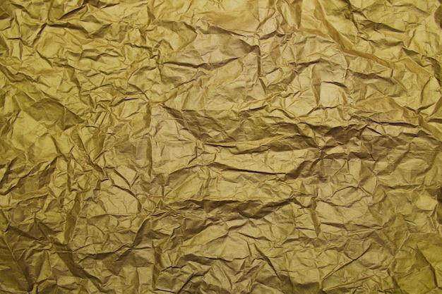 Goldfolie gelbes papier