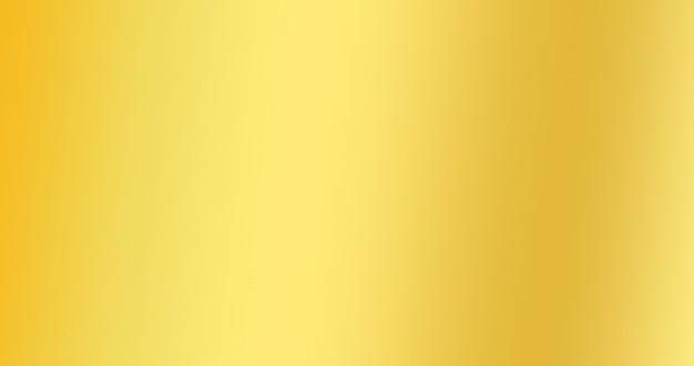 Goldgradienten-farbhintergrund für kreativen abstrakten hintergrund