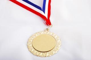 Goldmedaille, eine medaille