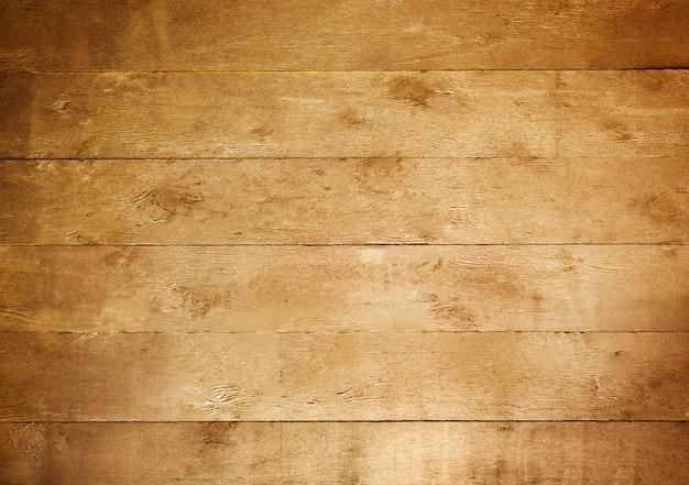 Goldtisch. goldene gemalte rustikale textur des holzes