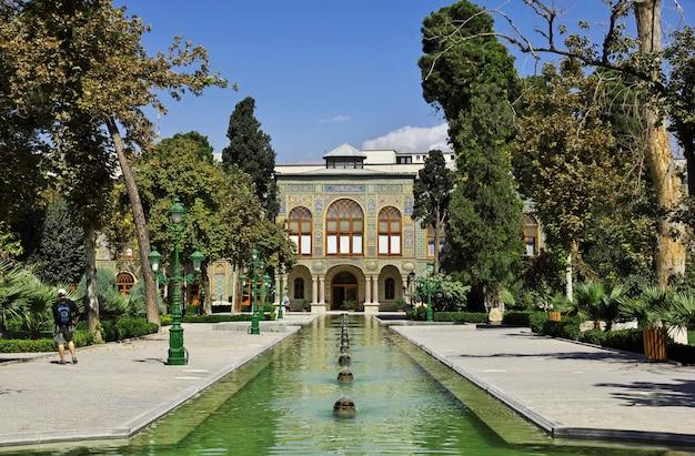 Golestan palast in der teheran-stadt, der iran