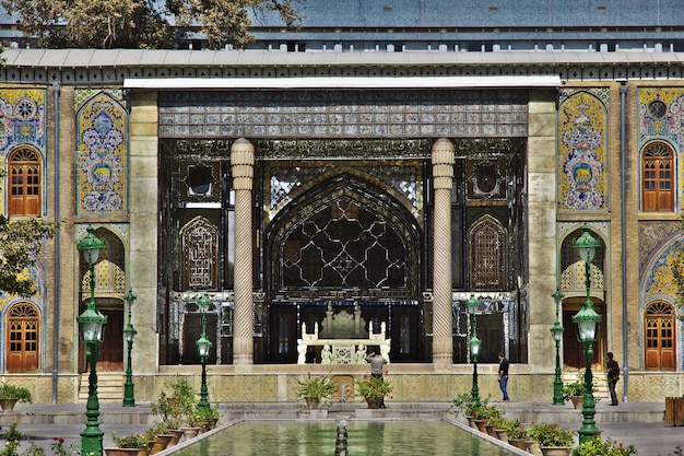 Golestan palast in teheran stadt iran