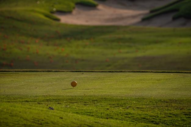 Golffeld sommerlandschaft