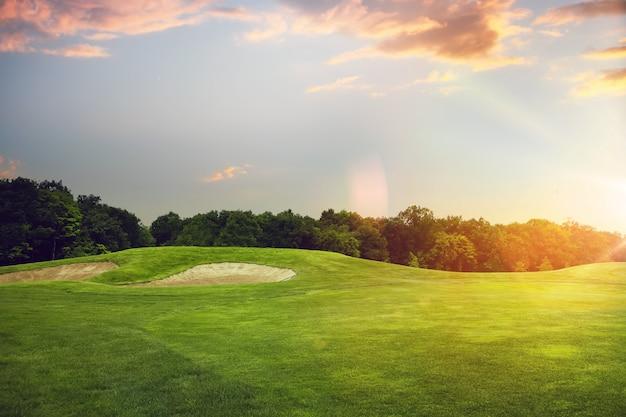 Golfplatz, startpunkt