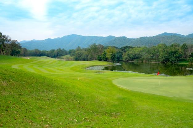 Golfplatzlandschaft