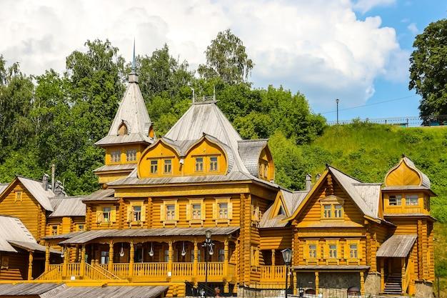 Gorodets russia complex city of craftsmen am ufer der wolga