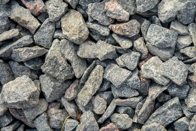 Granit kies textur weiße kieselsteine stein hintergrundlandschaft konzept muster