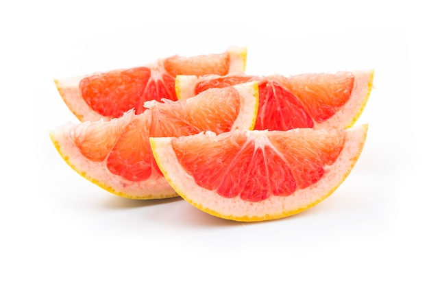 Grapefruit isoliert