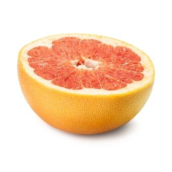 Grapefruit rubin isoliert