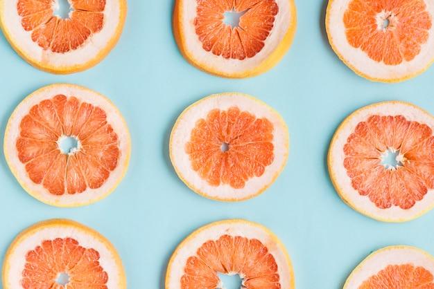 Grapefruit scheiben hintergrund