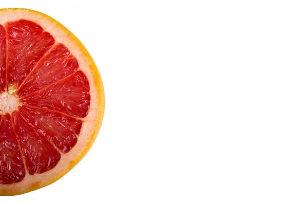 Grapefruitscheibe