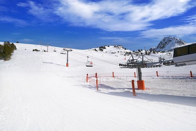 Grau roig skigebiet in andorra grandvalira