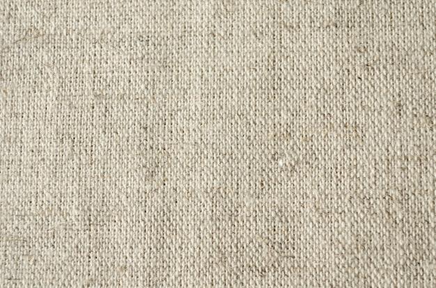 Grau von grobem leinen mit einer textur