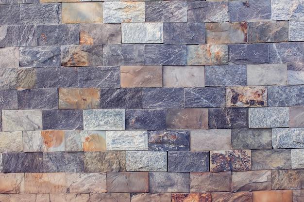 Graue backsteinmauer hintergrund vintage und moderne textur
