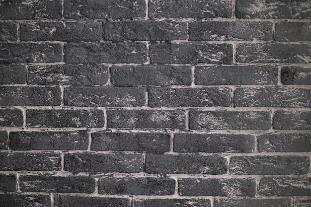 Graue backsteinmauer hintergrundtextur mit weißen details